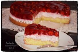 erdbeer mascarpone torte mit tortenguss