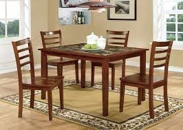 5 pc Fordville I collection transitional style antique oak finish