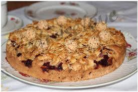 mandel kirsch kuchen mit nusstopping redroselove mein