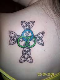 Simple And Detailed Celtic Cross Tattoos 15