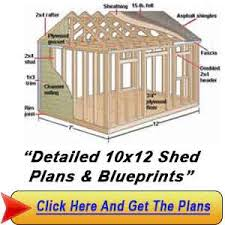 shed plan 10 12 the way to build a shed shed diy plans