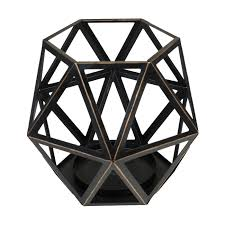 La Tee Da Lamps by Large Geometric Candle Holder By Virginia Gift Brands