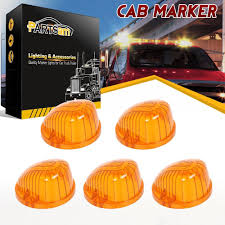5PCS Amber Roof Running Top Light 9069A Covers Lens For Chevrolet ... 8pc White Led Truck Bedrear Work Box Lighting Kit Trunk Light For Marker Clearance Lights Trucklite 2pcs 6000k P13w 33smd Bulbs For Auto Car Fog Lamp Arb Style Blue Rocker Switch Many Sayings Hid Pros Automotive Bulb Connectors Sockets Wiring Harnses 15 Series Incandescent 1 Rectangular Clear Utility 50 Smart 7 Solid Pin Grey Plastic Surface Mount Nose Universal Teardrop Smoke Cab Roof Super 44 Red Round 6 Diode Stopturntail Black Grommet