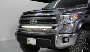 Stealth Light Bar Install For 2015 Toyota Tundra - Better Automotive ... 20in Dualrow Singlerow Led Light Bar Hidden Bumper Mounting Affordable Tow Truck Bars For Sale Speedtech Lights Zroadz Toyota Tacoma 62018 Rear Mounts For Two 6 White Truck With Better Automotive Lighting Blog Putco Switchblade Tailgate Sharptruckcom 30in Brackets 92 5 Function Trucksuv Brake Signal Reverse Dual Set Of Single Row Grille W 30inch Chrome How To Install Curve Light Bar Aux Lights On Youtube Trucks Buggies Winches 2013 Sema Week Ep 3