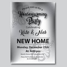 3 Gray Printable Housewarming Party Invite