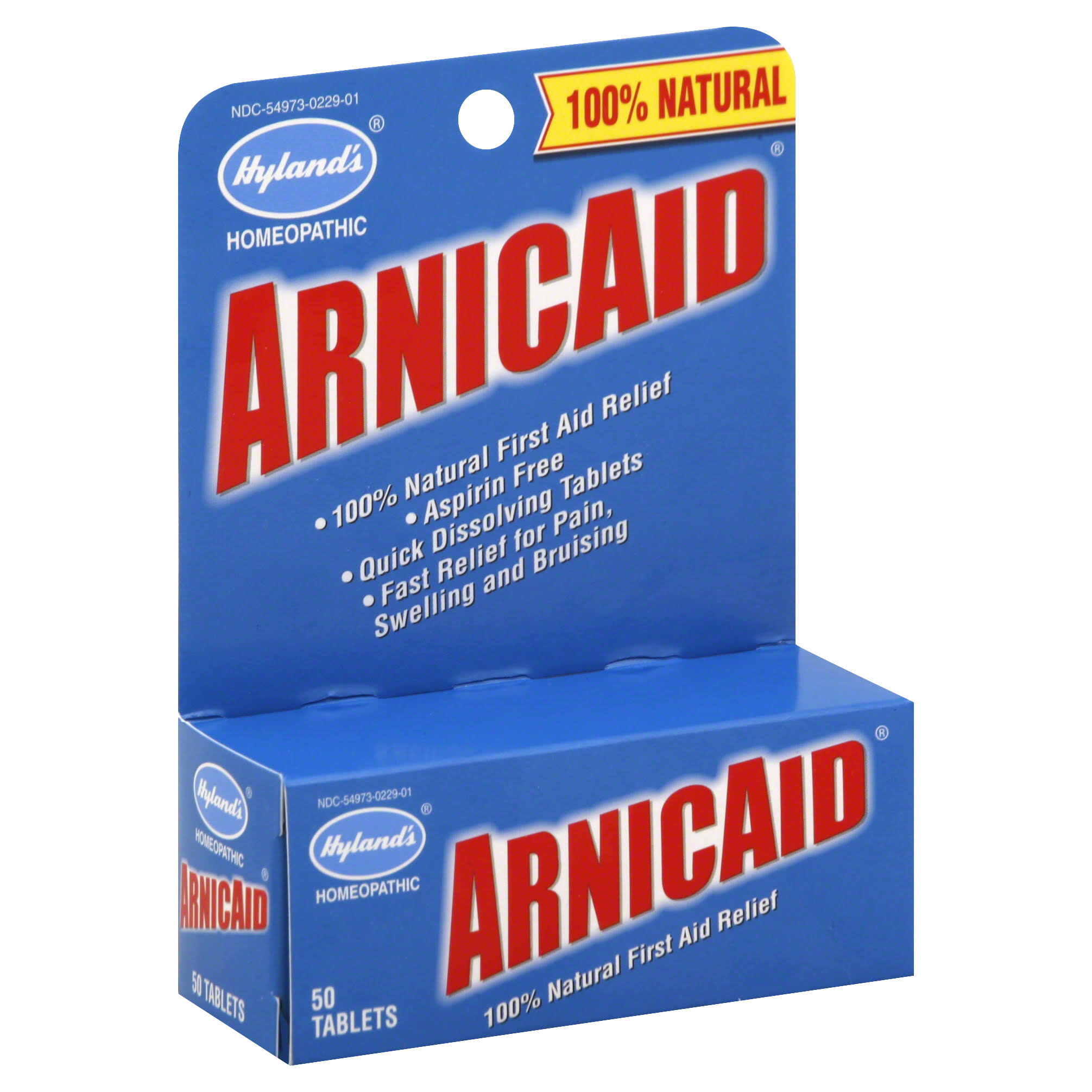Hyland's Arnicaid First Aid Relief Tablets - 50 Tablets
