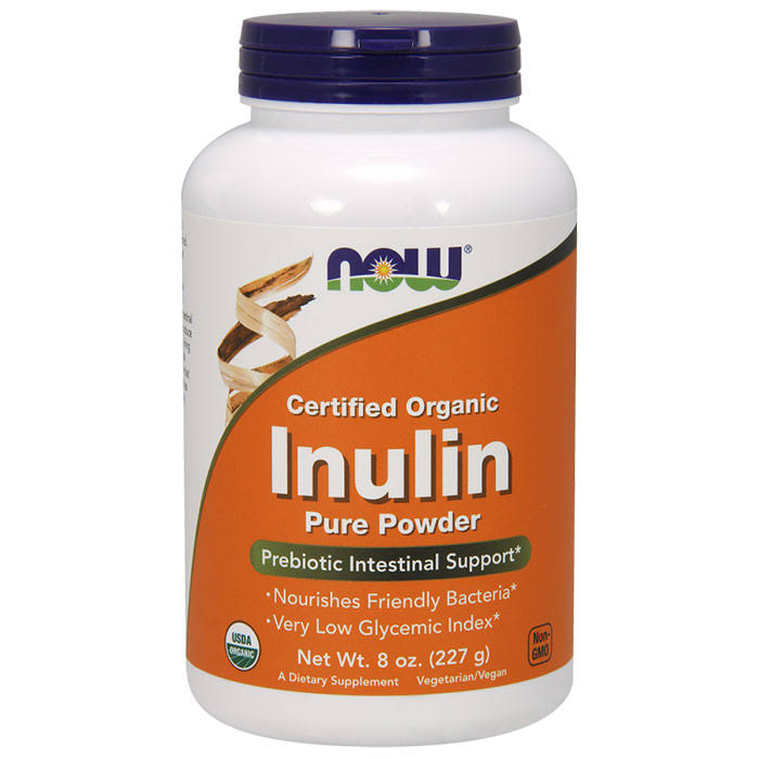 Now Inulin Prebiotic Intestinal Support - 227g