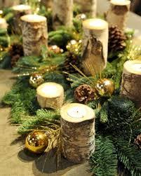 Elegant Rustic Christmas Table Centerpieces Ideas 25
