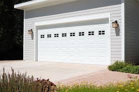C H I Overhead Doors model 2250 Steel Raised Panel Garage Door in