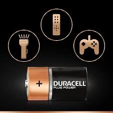 Longest Lasting Christmas Tree Uk by Duracell Plus Power Type D Alkaline Batteries Pack Of Amazon Co