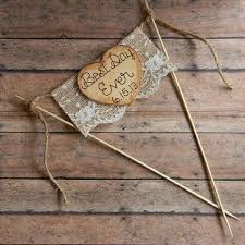 Diy Rustic Wedding Cake Toppers Best Bunting Ideas That You Will Like On
