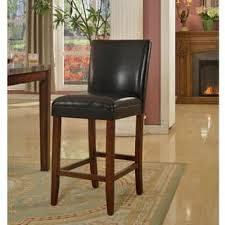 Black Leather Bar Stools by Leather Bar U0026 Counter Stools For Less Overstock Com