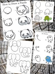 How To Draw Cartoon Animals | Kids | Pinterest | Draw Animals ...
