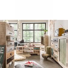 kommode uma 10 sideboard anrichte schrank wohnzimmer mangoholz bunt
