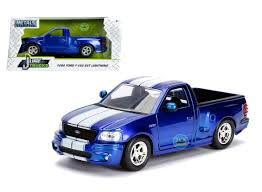 99 Blue Ford Trucks 1999 F150 SVT Lightning Truck Just Candy 124 By