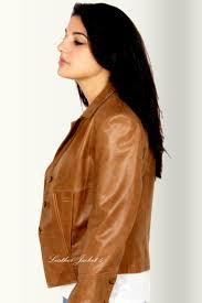 womens leather blazer jackets