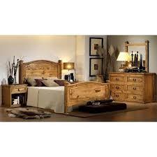 Hacienda Rustic 5 Piece Bedroom Set 53 5PCSET