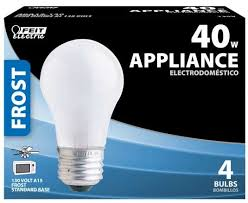 4 pack feit appliance fan 40w 130 120v a15 frosted