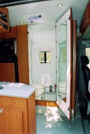 Interior View Of A Combo Shower And Toilet With The Door Open