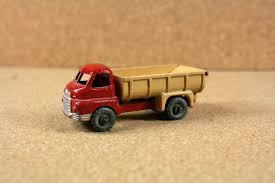 100 7 Ton Truck Matchbox No 40 40A Bedford Tipper 1950s Red Etsy