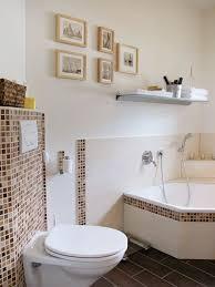bad mit mosaikfliesen und badewanne eco system haus