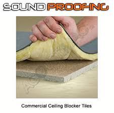 commercial soundproofing drop ceiling blocker tiles 2 x2 goes