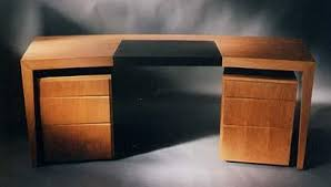 bureau bois design bernard mauffret produits bureaux classiques courbes