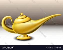 Aladdin Lamp Oil Shelf Life by Genie Lamp Royalty Free Vector Image Vectorstock