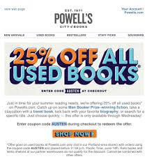 Powells Books Coupon / Recent Coupons Goodwill Deals Ihop Online Coupon Codes Dress Barn Promo January 2019 Cheeca Lodge Code Benefits And Discounts With Upenn Card Wileyplus Discount How To Find Penny On Amazon Crayola Plano Submarina Coupons Vista Ca Up 25 Off With Overstock Coupons Promo Codes Deals Nintendo Uk Look Fantastic Thift Books Gardeners Supply Company Zoomcar First Ride Magoobys Joke House Thrift Lulemon Outlet In California Thriftbooksdotcom Instagram Photos Videos Privzgramcom