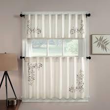 Kitchen Curtains At Walmart by Kitchen Curtains And Valances Kitchen Cafe Curtain And Valance