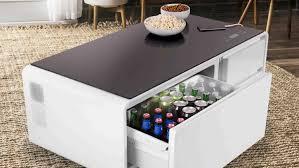 sobro ist beleuchteter tisch lautsprecher kühlschrank in