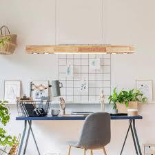zmh pendelleuchte led hängeleuchte 35w 3000k holz warmweiße licht 120cm pendelle für wohnzimmer küche arbeitszimmer kaufen otto