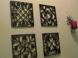 Faux Metal Wall Art From Toilet Paper Rolls
