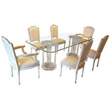 100 White Gloss Extending Dining Table And Chairs Astounding Glass Set 8 Clear 4
