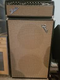Fender 2x10 Guitar Cabinet by Up For Sale Is My 1967 Fender Blackface Dual Showman Amp Head And