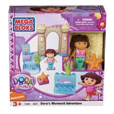 Dora The Explorer Kitchen Playset by Mega Bloks Dora U0027s Mermaid Adventure Toy Set Free Shipping On