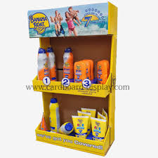 Toothpaste Paper Display Rack Skin Care Products Desktop Stand