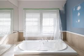 badezimmer streichen farbe statt fliesen