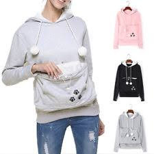 cat hoodies hoodie with ears ebay