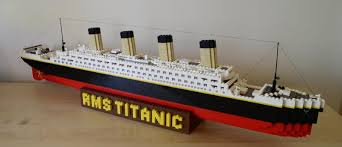 titanic lego je kunt alles maken van lego pinterest titanic