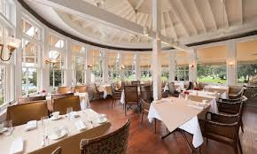 Grand Dining Room Windows And View