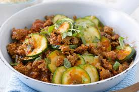 schnelle zucchini hackfleisch pfanne