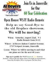 60 Year Open House Janesville