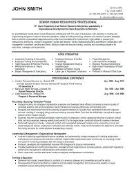 Resume Samples For Hr Jobs Also Coordinator Examples Human Resources
