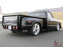 100 69 Chevy Truck Pictures 1972 70 CHEVY C10 STEPSIDE PICKUP TRUCK CHOPPED BAGGED 20S