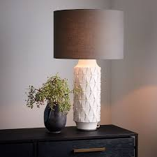 Tall Table Lamps For Bedroom by Ceramic Texture Table Lamp Tall West Elm