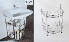 waschtisch regal badezimmerregal waschbeckenunterschrank metallregal badmöbel