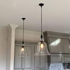 3 light kitchen pendant glass hanging lights glass pendant lights