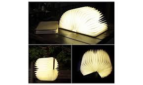 iGlo Lumio Style Luxury Led Folding Book Lamp 4 Colors Book Light