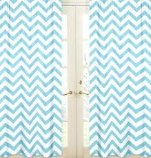 blue chevron curtains teawing co